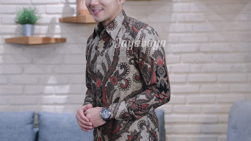 Jayabaya Batik Arga III Kemeja Batik Pria Lengan Panjang