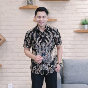 ayabaya Batik Arga II Kemeja Batik Pria Lengan Pendek
