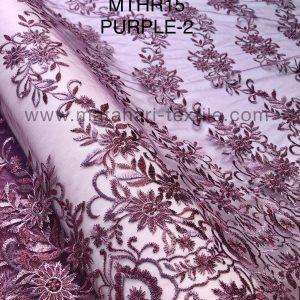 Embroidery Tulle MTHR15-PURPLE-2