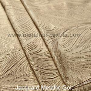 Jacquard Metallic - Gold