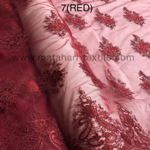 Embroidery Tulle MTHR19-7(RED)