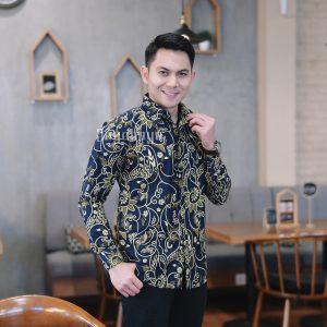 Jayabaya Batik Taruna Kemeja Batik Pria Lengan Panjang
