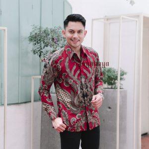 Jayabaya Batik Arga Kemeja Batik Pria Lengan Panjang