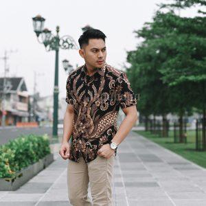 Jayabaya Batik Arga IV Kemeja Batik Pria Lengan Pendek