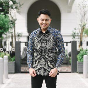 Jayabaya Batik Gurdho Kemeja Batik Pria Lengan Panjang