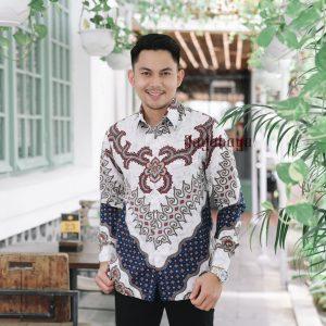 Jayabaya Batik KAMA II Kemeja Batik Pria Lengan Panjang