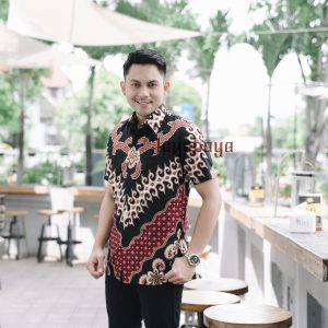 Jayabaya Batik KAMA Kemeja Batik Pria Lengan Pendek