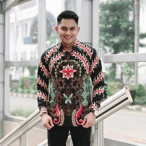 Jayabaya Batik Parama Kemeja Batik Pria Lengan Panjang
