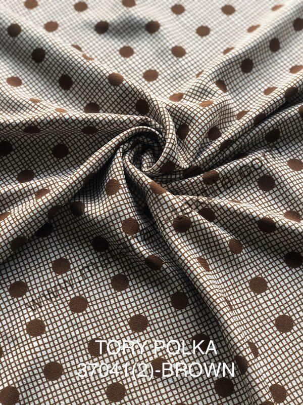 Tory Burch Polka(2)Brown