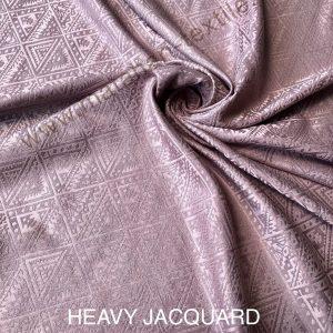 HEAVY JACQUARD SILK