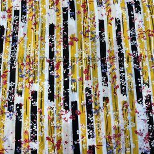 Screen Printed Rayon Viscose 12-A
