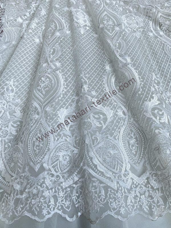 Embroidery Tulle ELIE SAAB GJ 286 - OFF WHITE