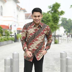 Jayabaya Batik Abhinav Kemeja Batik Pria Lengan Panjang