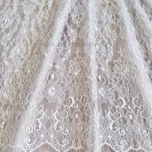 CHANTILY FRENCH TULLE 9025 - OFF WHITE