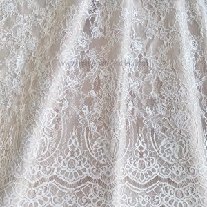 CHANTILY FRENCH TULLE 0415 - OFF WHITE