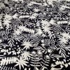 Screen Printed Rayon Viscose 2782 - Black