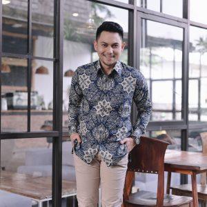 Jayabaya Batik Deska Kemeja Batik Pria Lengan Panjang
