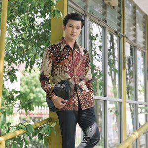 Jayabaya Batik Gandaria Kemeja Batik Pria Lengan Panjang