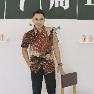 Jayabaya Batik Gandaria Kemeja Batik Pria Lengan Pendek